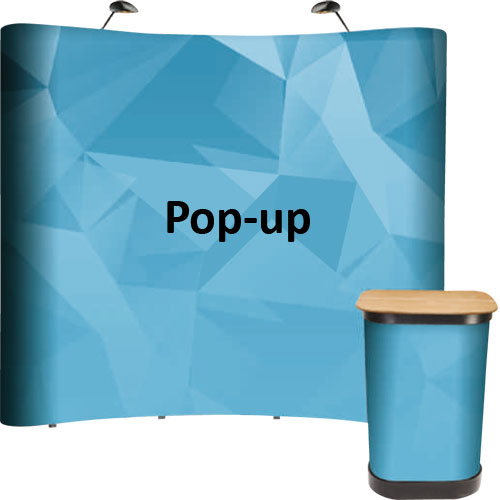 Ścianki Pop-up i Hop-up