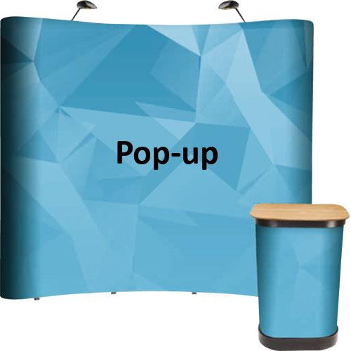 Ścianki Pop-up i Hop-up