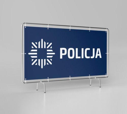 baner reklamowy policja