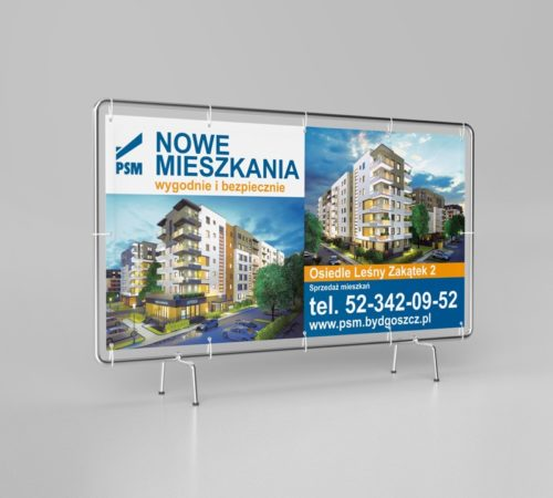 baner reklamowy deweloper Bydgoszcz