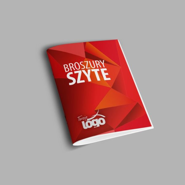broszury szyte