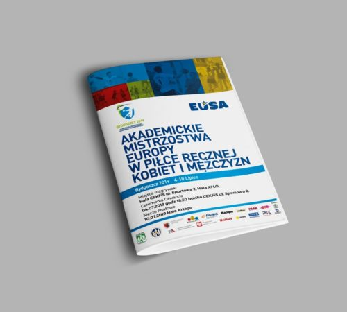 broszura reklamowa szyta AME