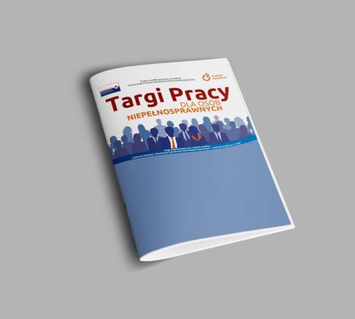 broszura szyta targi pracy