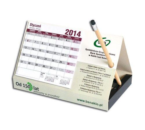 kalendarz stojący na biurko