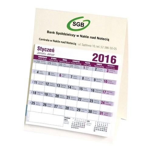 Kalendarz biurkowy DOMEK STANDARDOWY