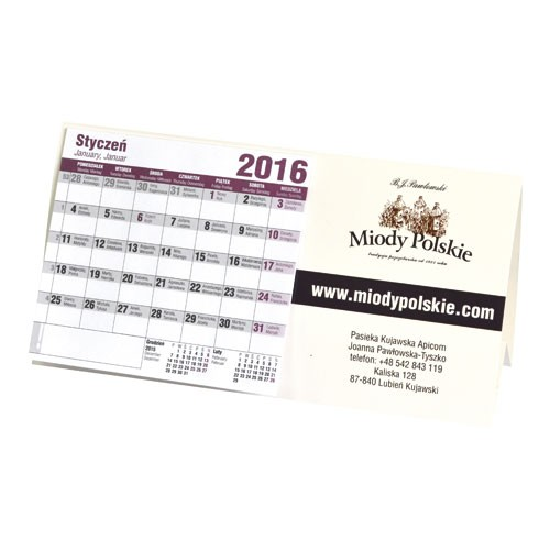 Kalendarz stojący classik