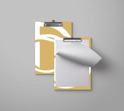 clipboard reklamowy z klipsem