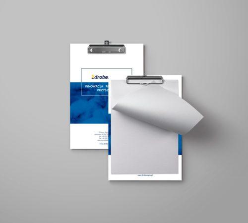 clipboard reklamowy z nadrukiem Drobex