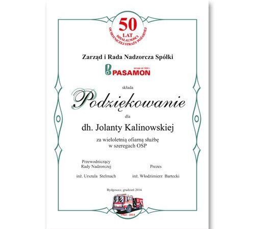 podziękowania drukarnia DobryDrul.pl
