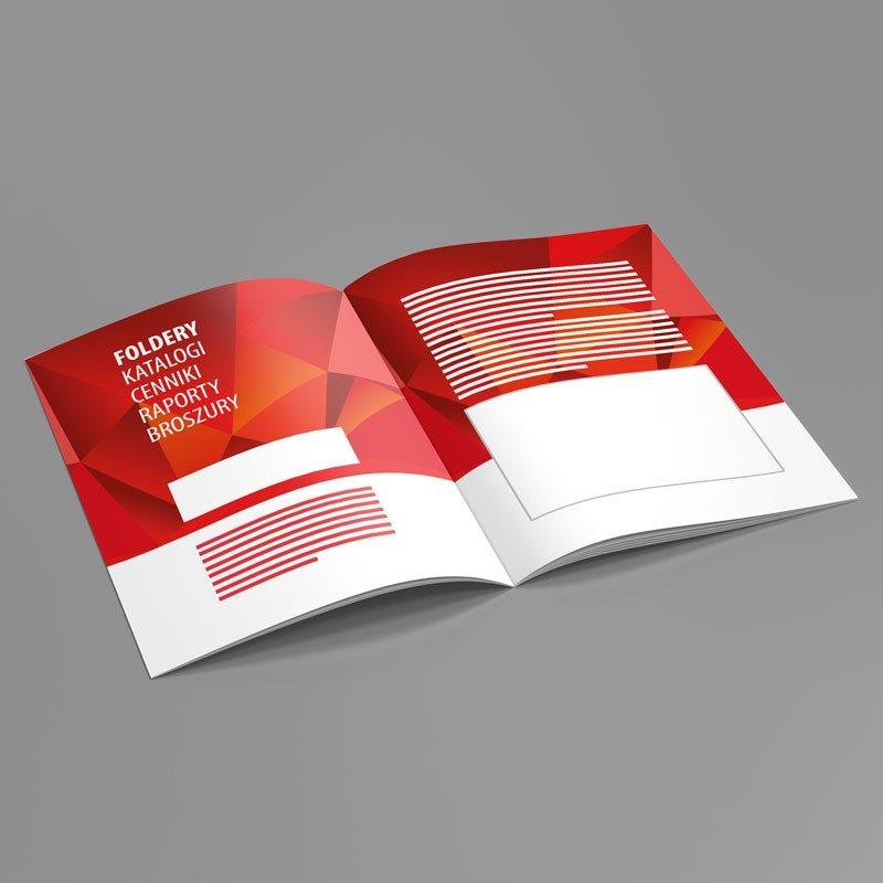 foldery, katalogi, cenniki, raporty, broszury