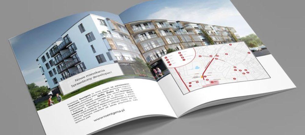 katalog firmowy folder A4 Roentgena