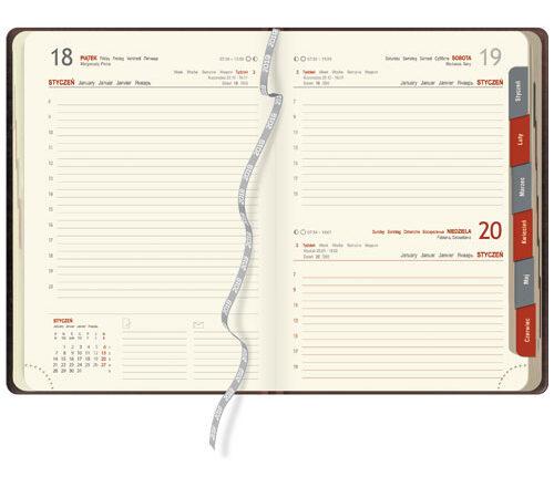 kalendarz książkowy terminarz KK04