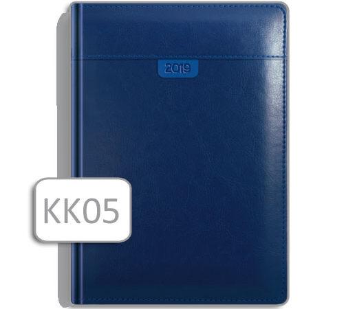 kalendarz książkowy w skórzanej oprawie KK05