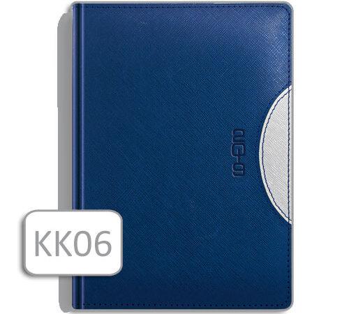 kalendarz notesowy KK06 niebieska oprawa