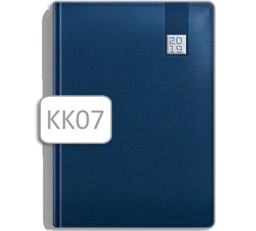 kalendarz książkowy terminarz KK07 niebieski