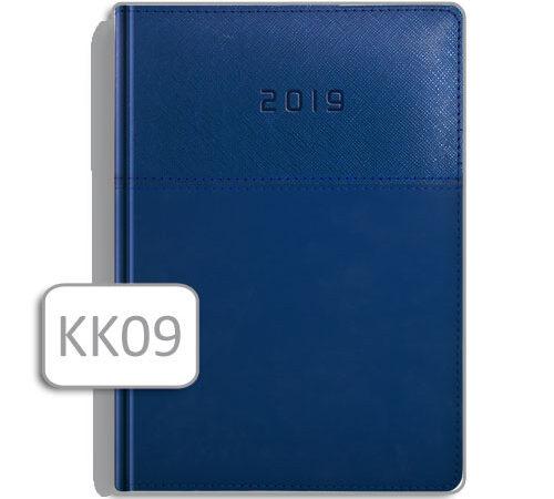 kalendarz książkowy niebieski KK09