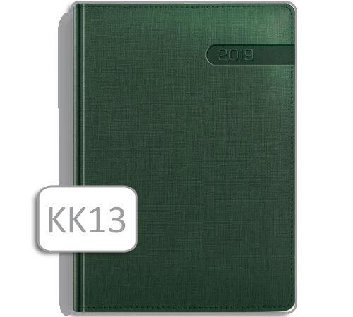 kalendarz książkowy KK13 zielony