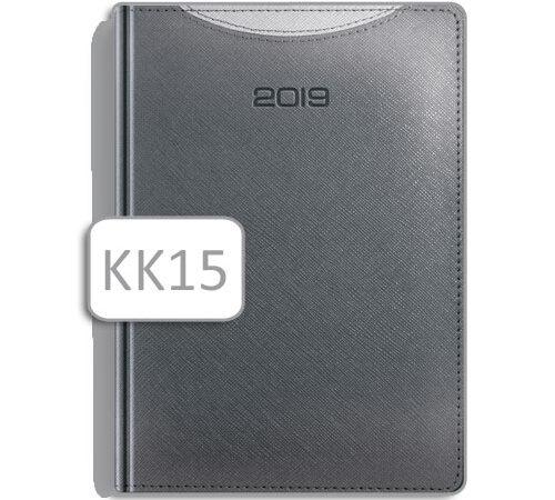 kalendarz książkowy terminarz KK15 szary