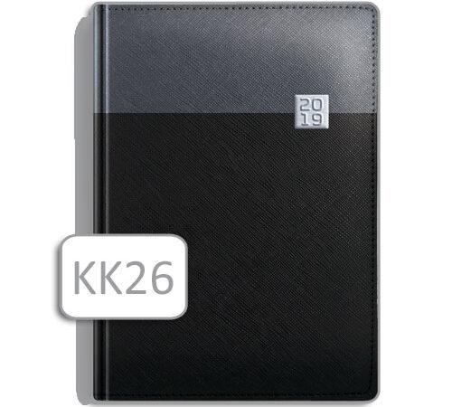 kalendarz notesowy czarny KK26