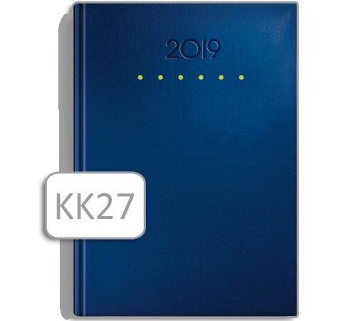 kalendarz książkowy KK27 niebieski