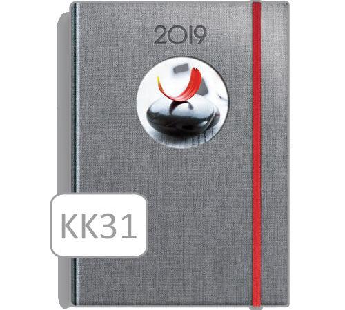 kalendarz książkowy KK31 szary