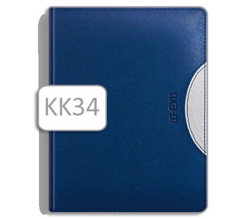 kalendarz typu książka KK34 niebieski