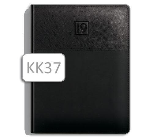 terminarz czarny A5 KK37 kalendarz książkowy