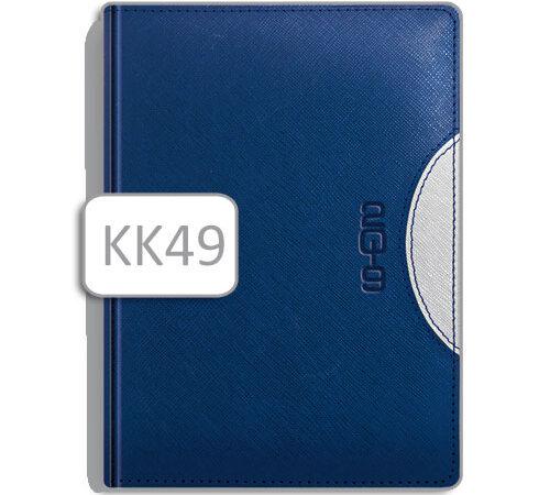 Kalendarz notesowy A5 KK49 niebieski
