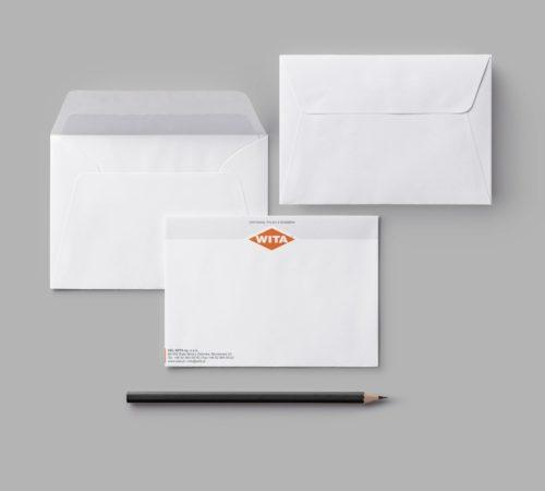 koperty z nadrukiem C5 Helwita