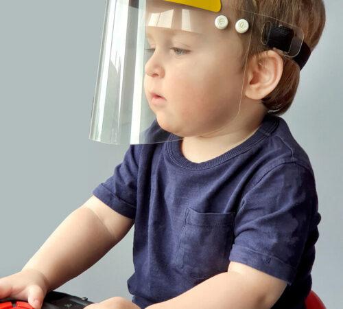 ochrona twarzy dziecka
