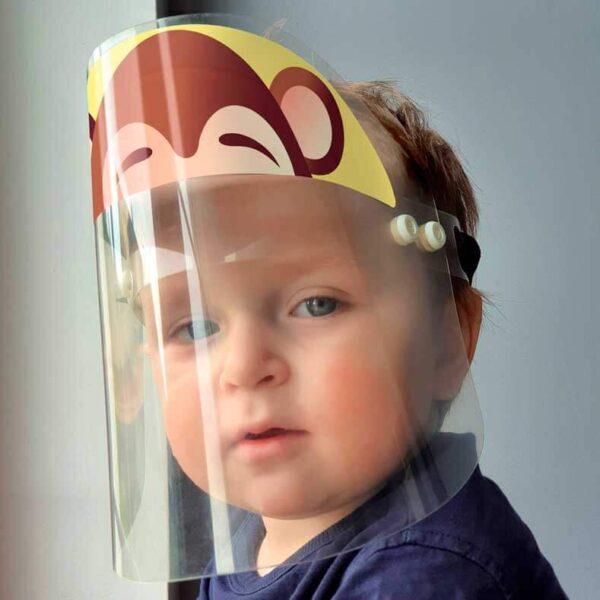 ozdobna przyłbica dla dziecka