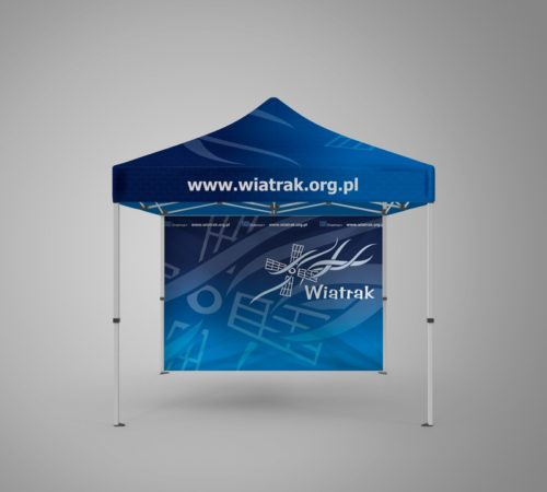 namiot reklamowy Wiatrak