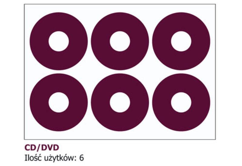 naklejki na płyty Cd i DVD