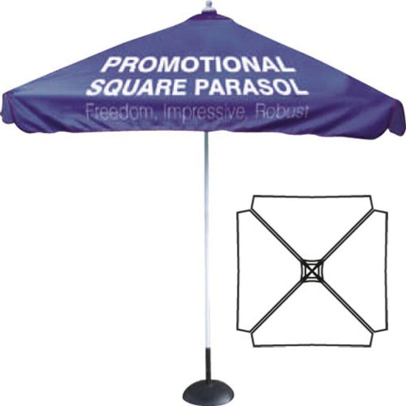 parasol reklamowy kwadrat