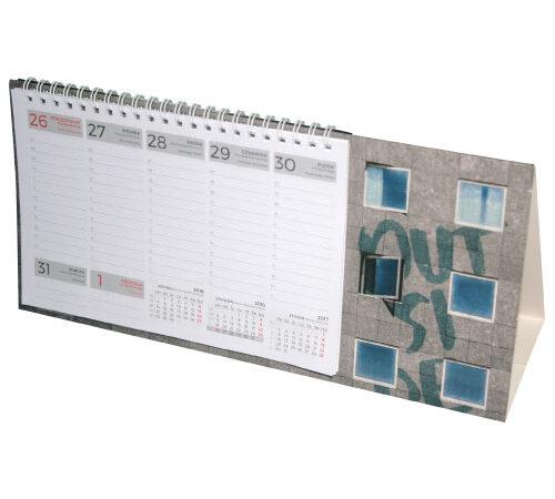 kalendarz biurkowy tygodniowy 2020