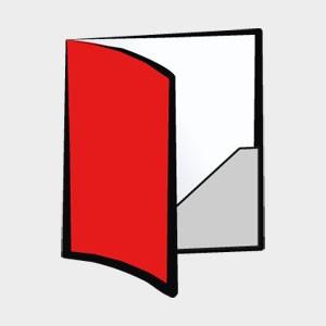 Teczki kartonowe małe nakłady