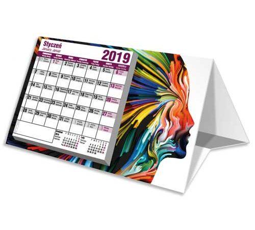 kalendarz biurkowy stojący drukarnia DobryDruk.pl