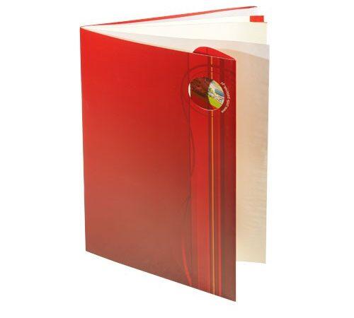 folder reklamowy A5 Paterek