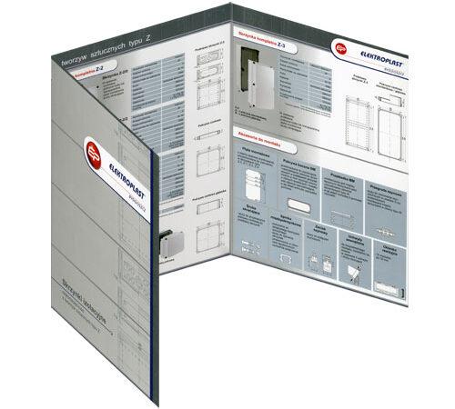 folder składany Elektroplast