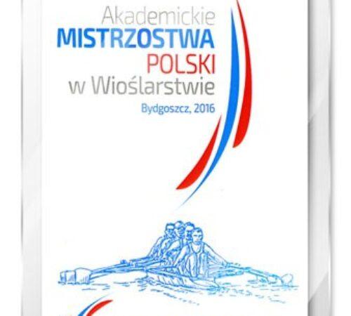 identyfikator pionowy Mistrzostwa Polski w Wioślarstwie
