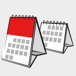 Kalendarz stojący MINI