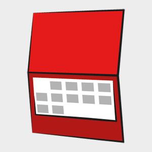 Kalendarz jednodzielny PRESTIŻ