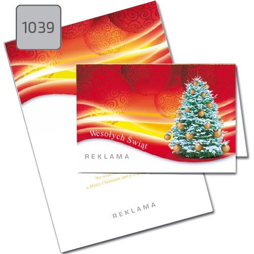 Kartki świąteczne z choinką