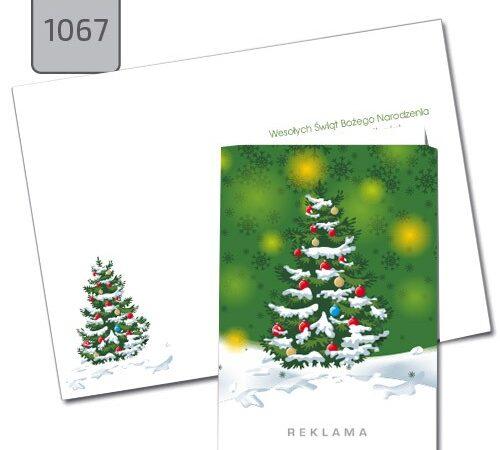 kartka świąteczna A6 drukarnia DobryDruk.pl 1067