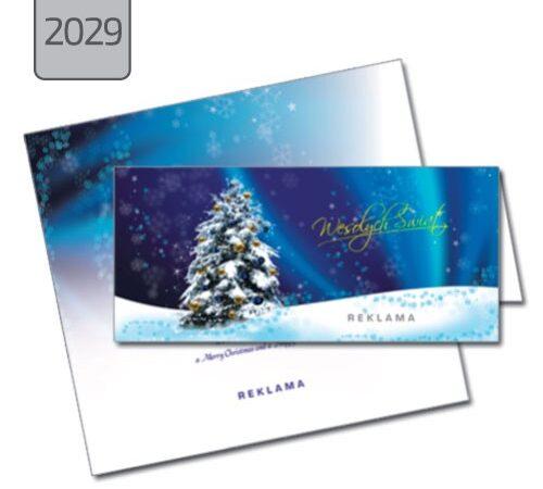 kartka święta Boże Narodzenie choinka 2029