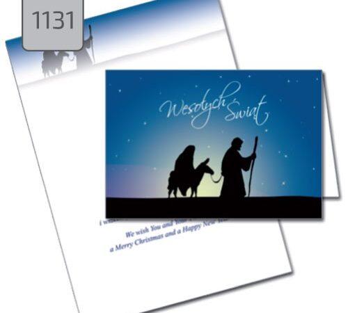 kartka świąteczna Boże Narodzenie dla firm 1131