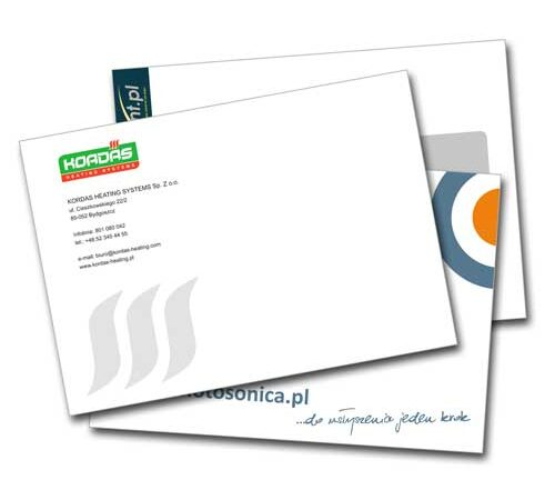 koperty firmowe z nadrukiem C5