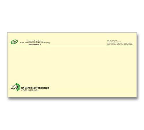 koperta z nadrukiem format DL