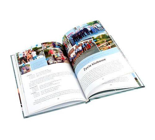 książka w twardej oprawie druk cyfrowy