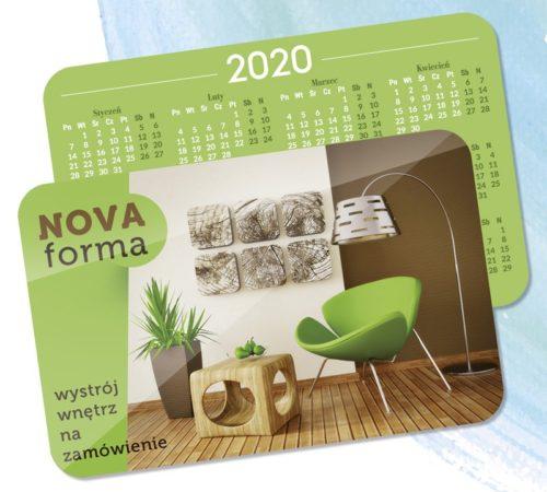 kalendarz listkowy 2020 drukarnia DobryDruk.pl